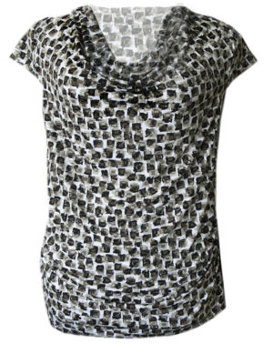 Alexia Brush Print Knit